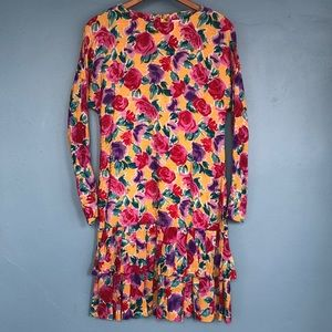 Vintage dropped waist dress
